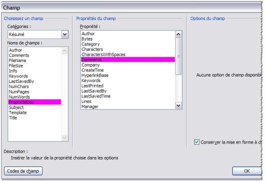 Comment utiliser les propri t s d 39 un document - Comment retrouver un titre de propriete ...